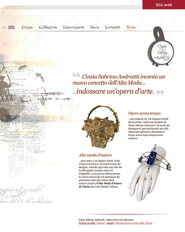 Cinzia Sabrina Andreetti - sito