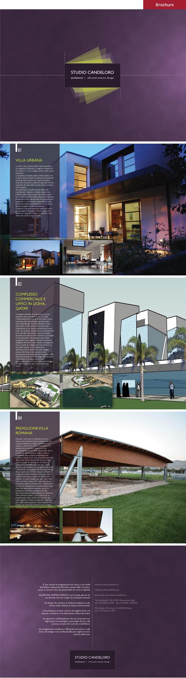 Studio Candeloro - Brochure