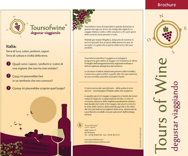 Tours of wine - Brochure