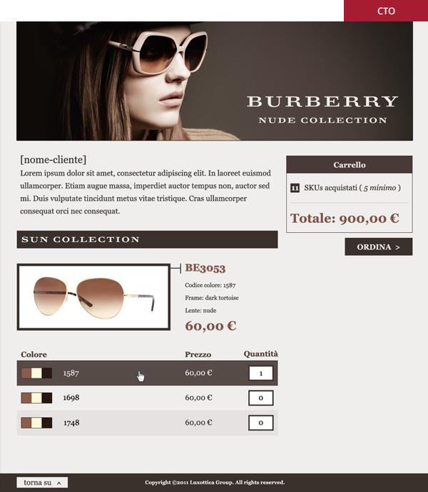 CTO - Burberry Luxottica