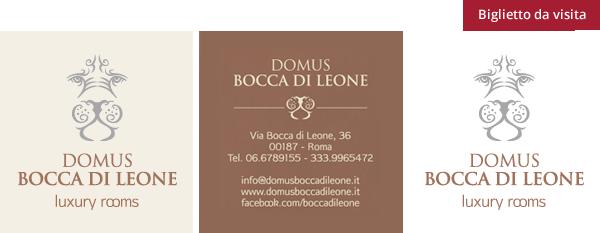 Domus bocca di Leone - Biglietto da visita