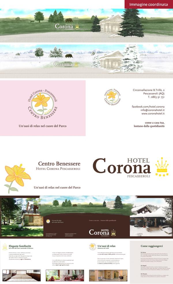 Hotel Corona - Immagine coordinata