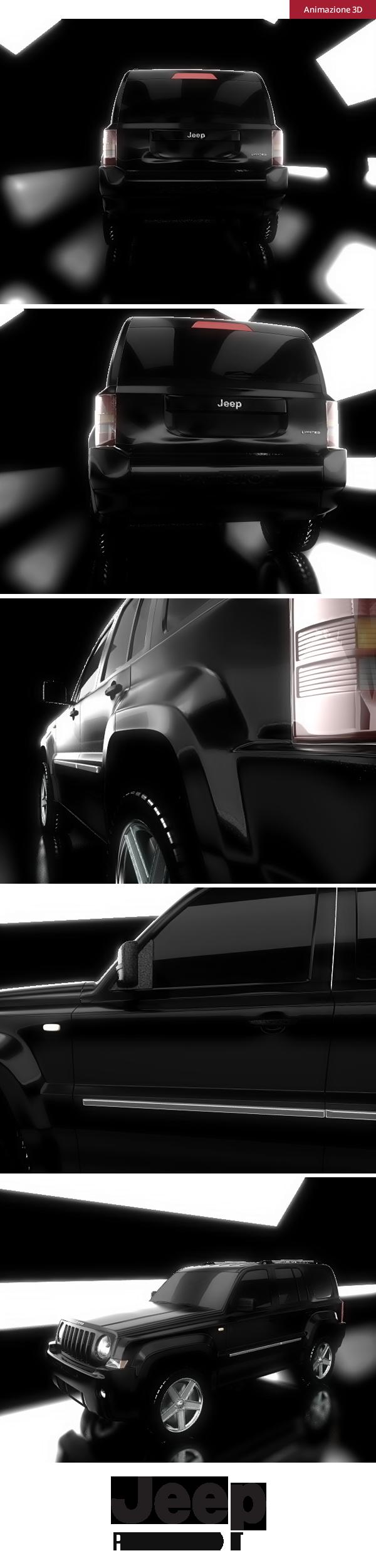 Jeep - animazione 3D