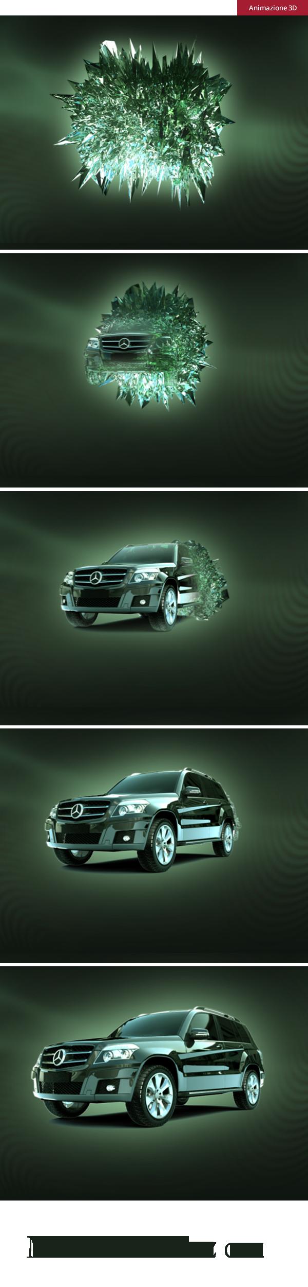 Mercedes - animazione