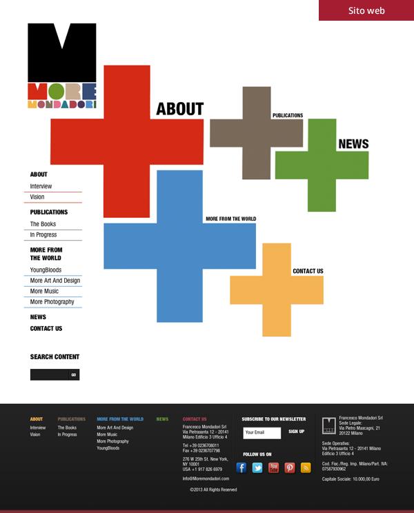 More Modadori - Sito web