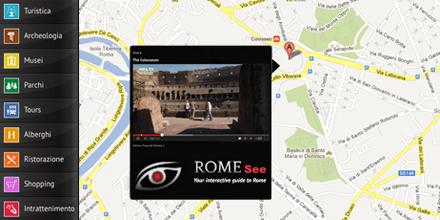 Rome See web design e web app