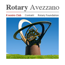 Club Rotary Avezzano sito web