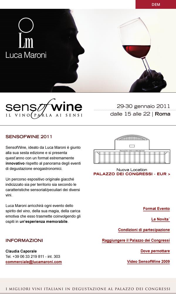 Sense of wine - DEM
