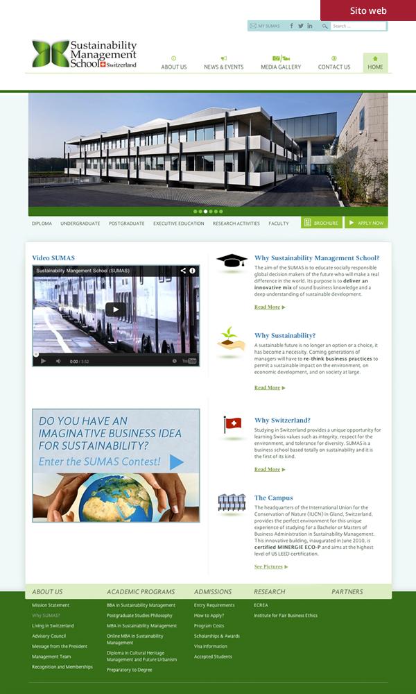 Sumas - sito web