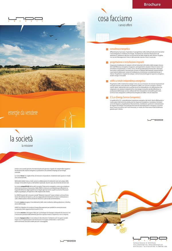Undo - Brochure restyling sito web