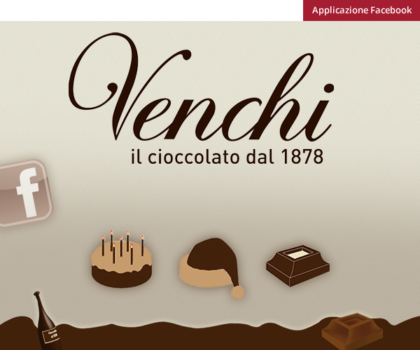 Cioccolato Venchi - Facebook App