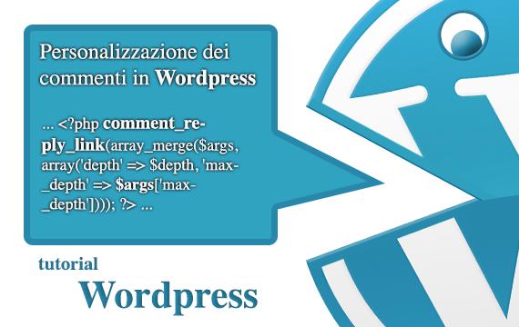 Personalizzazione dei commenti in WordPress