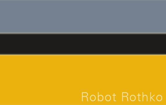 Robot Rotko generato da una web app