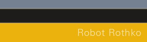 Robot Rothko digitali realizzai con una web app