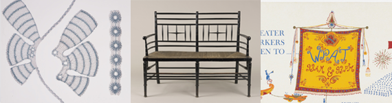 Opere esposte nel museo di Design Cooper-Hewitt di New York