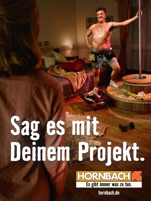 Spot campagna pubblicitaria Hornbach