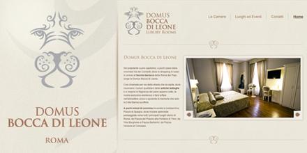 Domus bocca di leone sito web