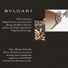 Luxottica Bulgari web marketing CTO