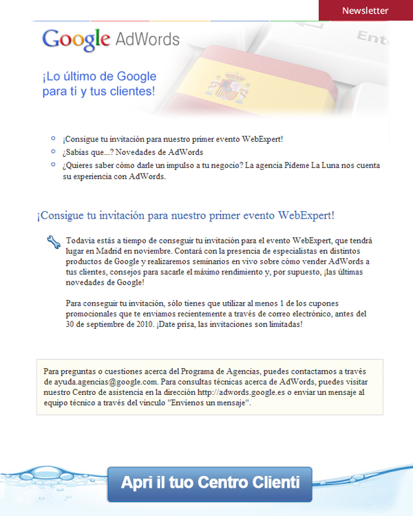Newsletter - Google