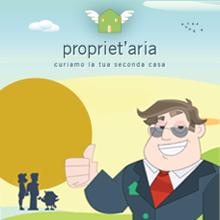 Propriet'aria web design