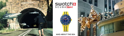 Swatch Scuba libre, mad about the sea