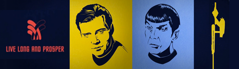 Illustrazione del telefilm Star Trek