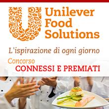 Unilever Food Solutions - visual design e sviluppo web per contest online