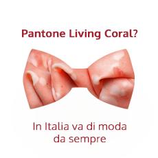pantone living coral mortadella